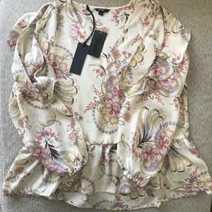 Flower Blossum Paisley Top